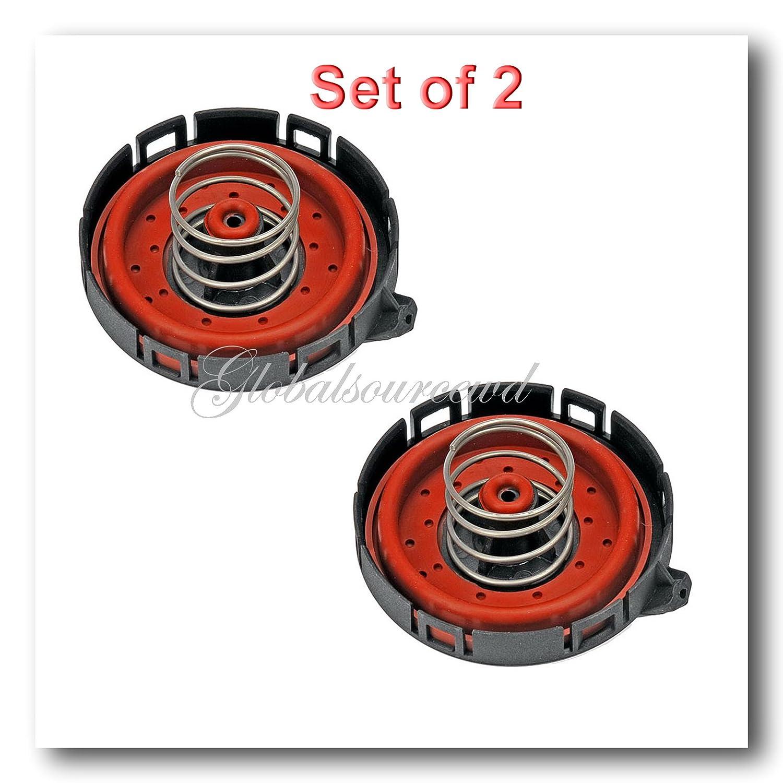 11127547058 Set 2 Crankcase Vent Valve Fits BMW 545I 550I 645I 650I 745I 750I ALPINA B7 X5