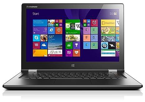 Lenovo IdeaPad Yoga 2 13 - Ordenador portátil (Hybrid (2-in-1), convertible (Carpeta), 1,7 GHz, Intel Core i3, i3-4010U) (importado), negro - Teclado ...