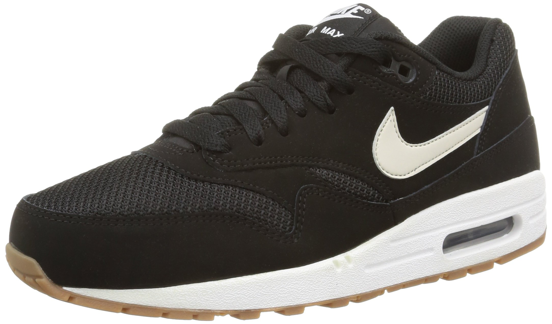 the latest c55c0 7978b Galleon - Nike Men s Air Max 1 Essential Black White 537383-026 (Size  8)