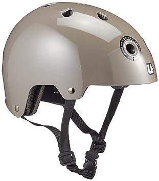 Urge UBP14105Y - Casco de ciclismo infantil para bicicleta BMX, color gris