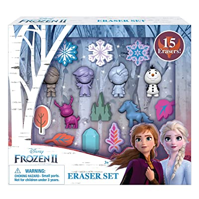 Disney Frozen 2 Erasers Set 15 Pack Frozen Gift for Kids: Office Products