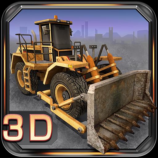 3D Parking Construction Site (Super Bulldozer)