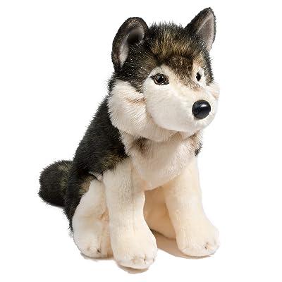 Douglas Cuddle Toys Atka Wolf: Toys & Games