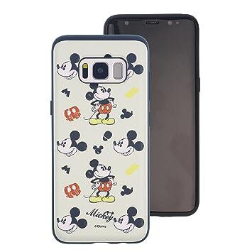 7d1f6744dc Galaxy Note9 ケース Disney Mickey Mouse ディズニー ミッキーマウス ダブル バンパー ケース/二層構造