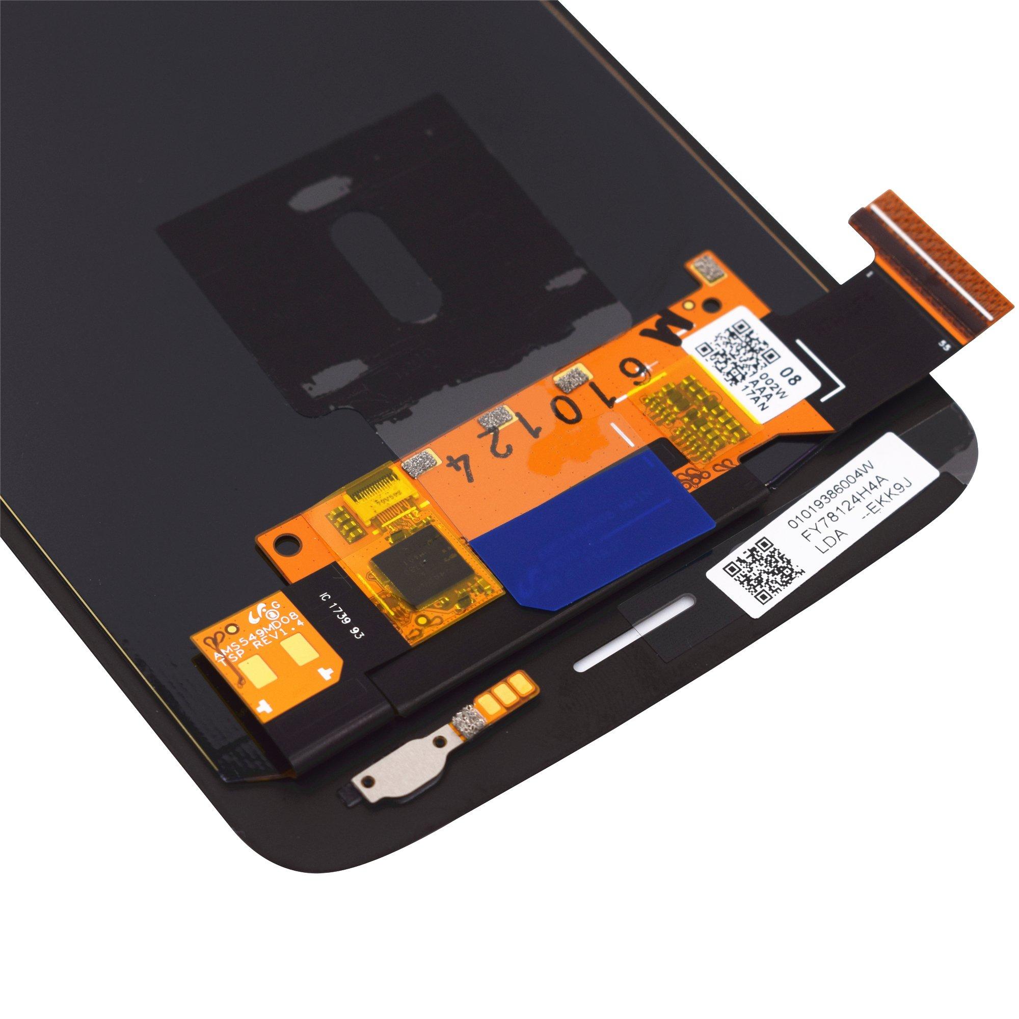 VEKIR Touch Display Digitizer Screen Replacement for Motorola Moto Z2 Play XT1710-01 XT1710-07 XT1710-10 XT1710-08(Black) by VEKIR (Image #6)