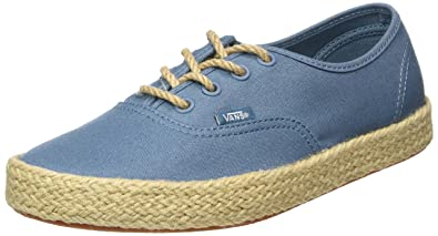 Vans Authentic Espadrille, Sneakers Basses mixte adulte, Bleu (CanvasAegean Blue)