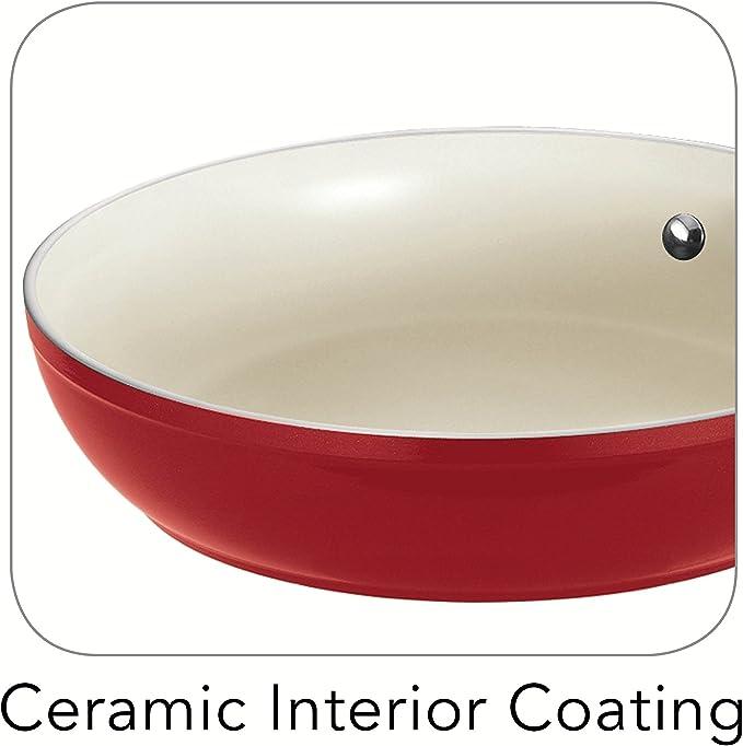 Amazon.com: Tramontina Gourmet Ceramica Deluxe - Sartén de ...