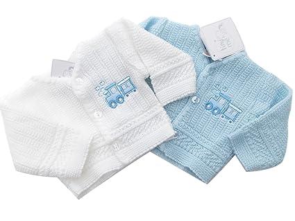 BNWT ropa de bebé prematuro recién punto para mujer blanco o tren ...