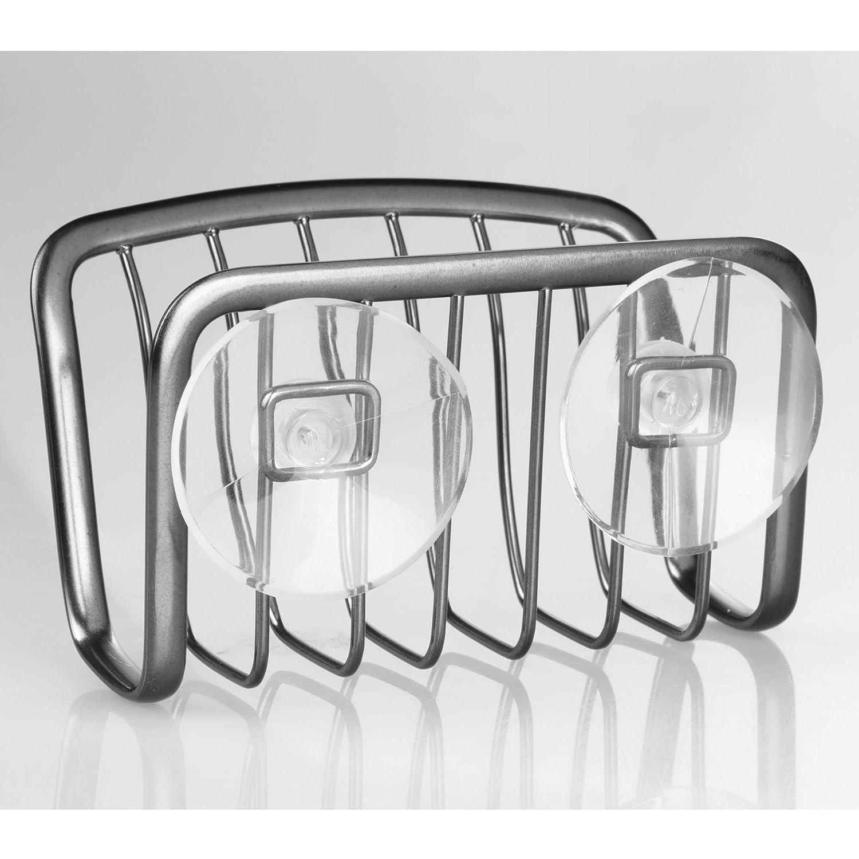 1 Einheiten 6.35 x 11.43 x 13.97 cm Stahl Schwarz iDesign 61084EU Axis Schwammhalter
