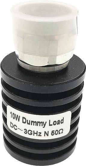 2W 50 ohm Resistor Dummy Load N Male DC-3GHz Coaxial RF Terminal Termination