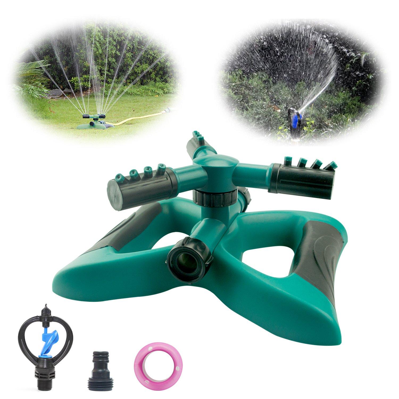 Anoak Lawn Sprinkler 360° Automatic Rotating Garden Water Sprinklers System (Auto Lawn Sprinkler)