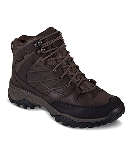 ede602599 The North Face Storm Mid Wp Leather Mens Lace Up Hiking Shoes