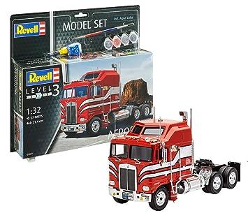 Revell 67671 - Maqueta de Auto 67671 Set 1: 32 - Kenworth ...