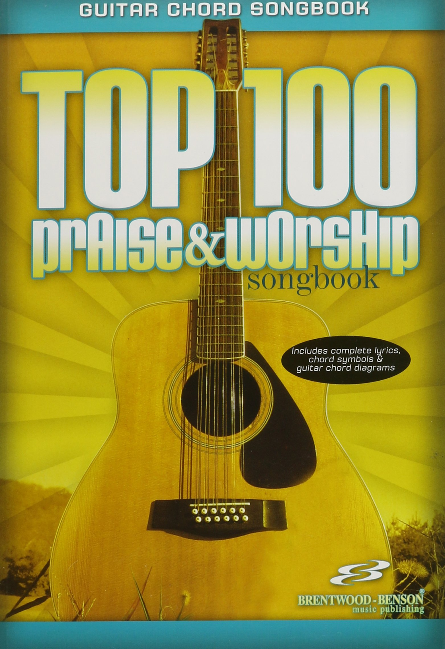 Amazon Top 100 Praise Worship Guitar Songbook Guitar Chord