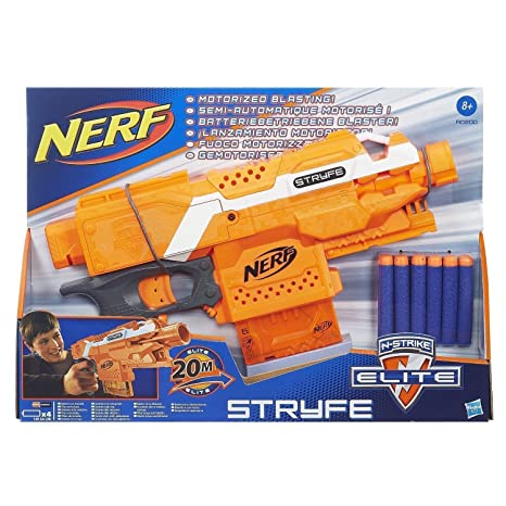 Nerf Elite - Stryfe, blu / arancio: Amazon.it: Giochi e giocattoli
