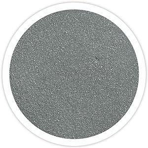 Sandsational Pewter Unity Sand, ~1.5 lbs (22oz), Dark Gray (Grey) Colored Sand for Weddings, Vase Filler, Home Décor, Craft Sand