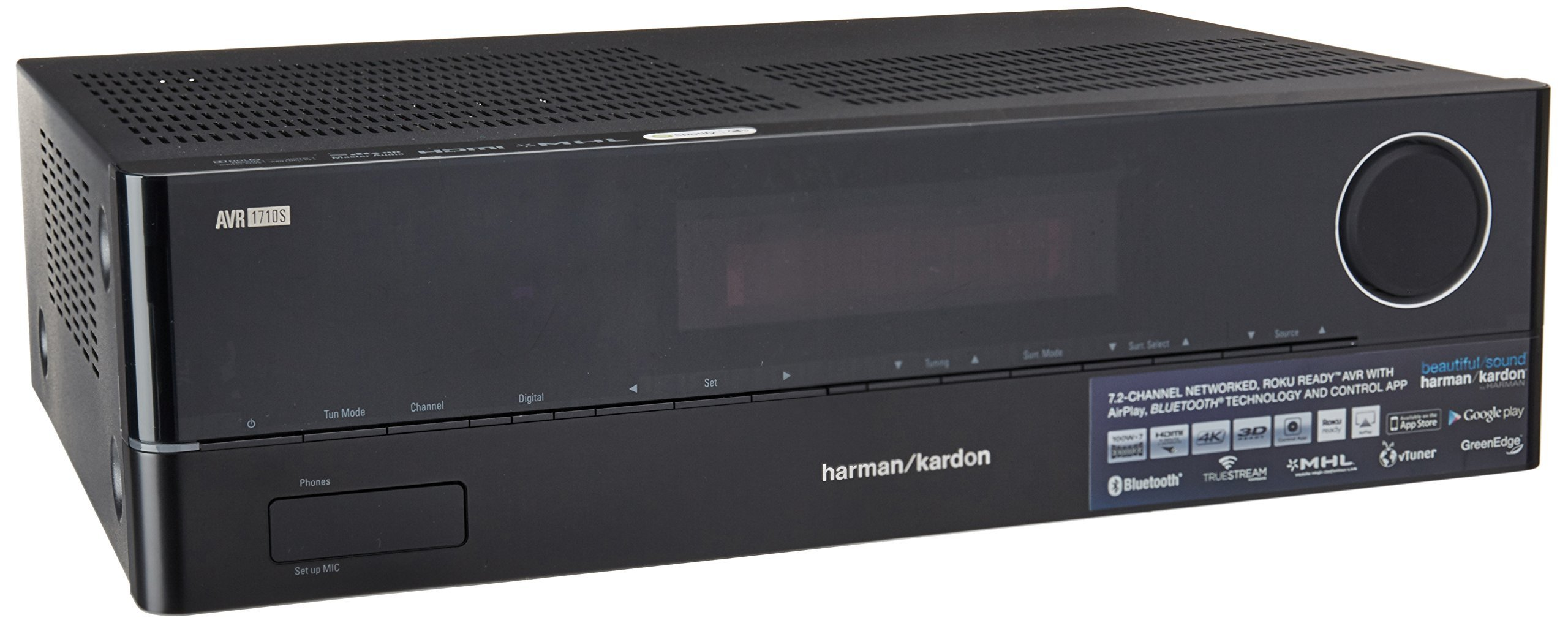 Harman Kardon Audiophile Performance Home Theater Receiver (AVR 1710S) by Harman Kardon