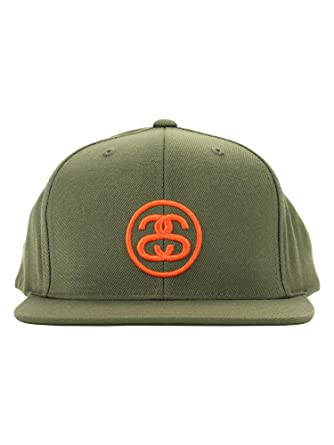 1e6eef5669c53 Stussy SS-Link HO17 Cap 131760 - Green - One Size  Amazon.co.uk  Clothing