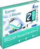 IRIS - IRIScan Mouse Executive 2 WiFi | Souris-scanner Tout-En-Un | Numérisation de Documents & de Cartes de Visite | Compatible avec Mac & PC | Traduit Plus de 130 Langues | Batterie Rechargeable