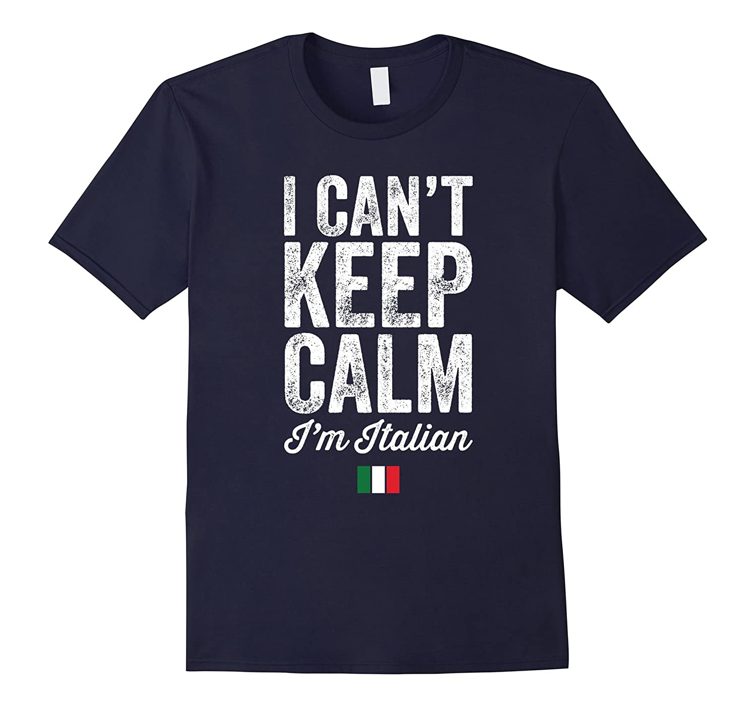 Mens Cant Italian T Shirt Royal-Veotee