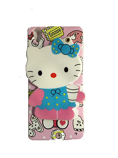 online store 574e3 aec8f Aarnik Mirror Soft Kitty Special Girl's Designer Back Case Cover for Oppo  A37 / Oppo A37F (Colours May Vary)