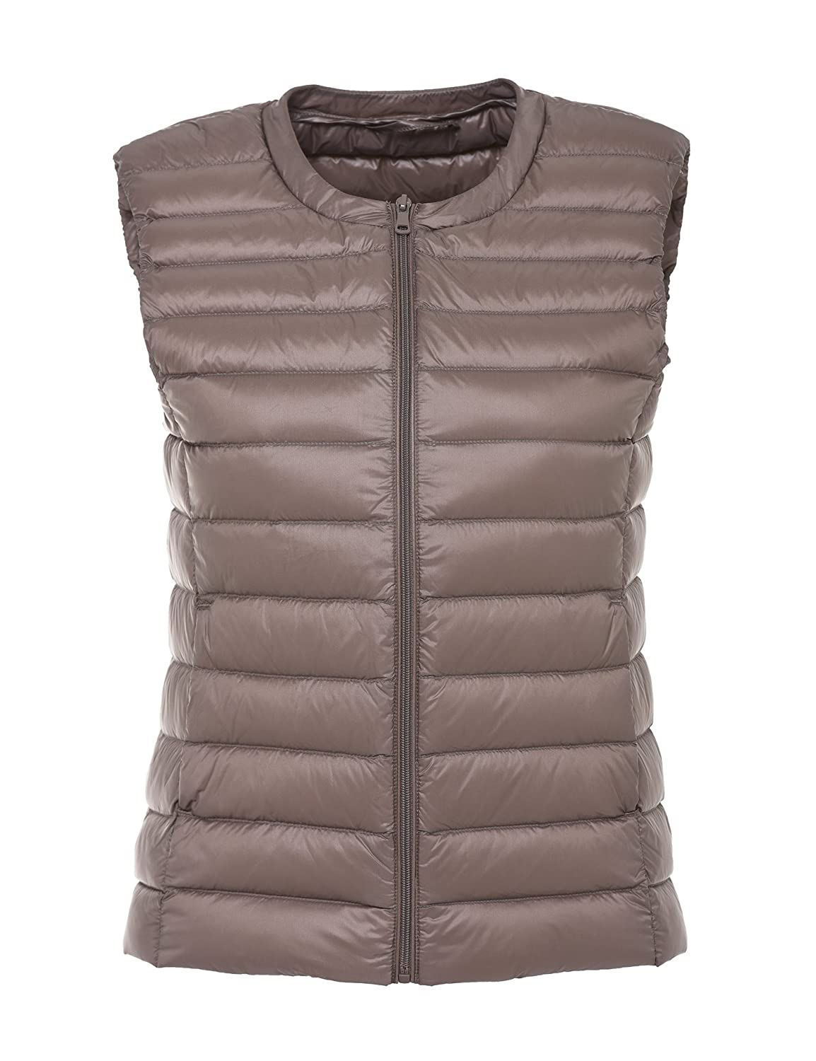 CHERRY CHICK 30 Colors, Ultra-Light, Soft Women's 90% Down Puffer Vest 1608020ABW