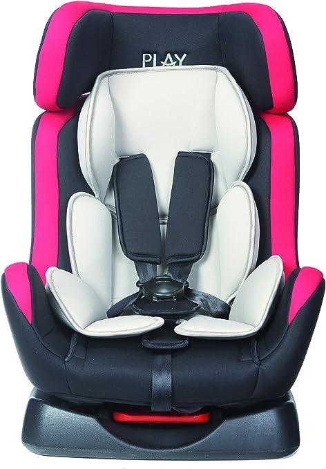 Comprar Play Scout 30185 - Silla de coche, grupo 0+/1/2 (0 - 25 kg), Rojo y negro