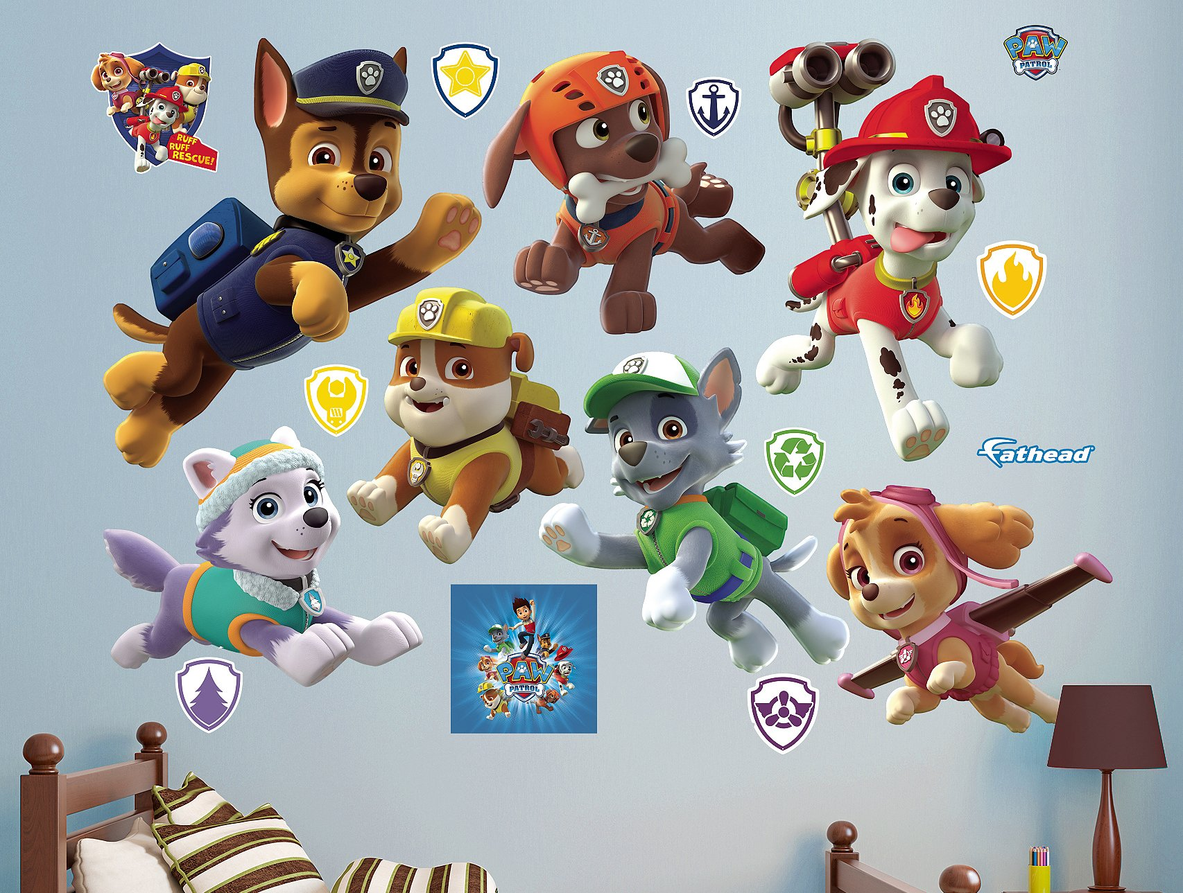Fathead PAW Patrol Puppies Collection Real Decals by FATHEAD