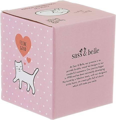 Sass /& Belle Cutie Portaspazzolino a forma di gatto