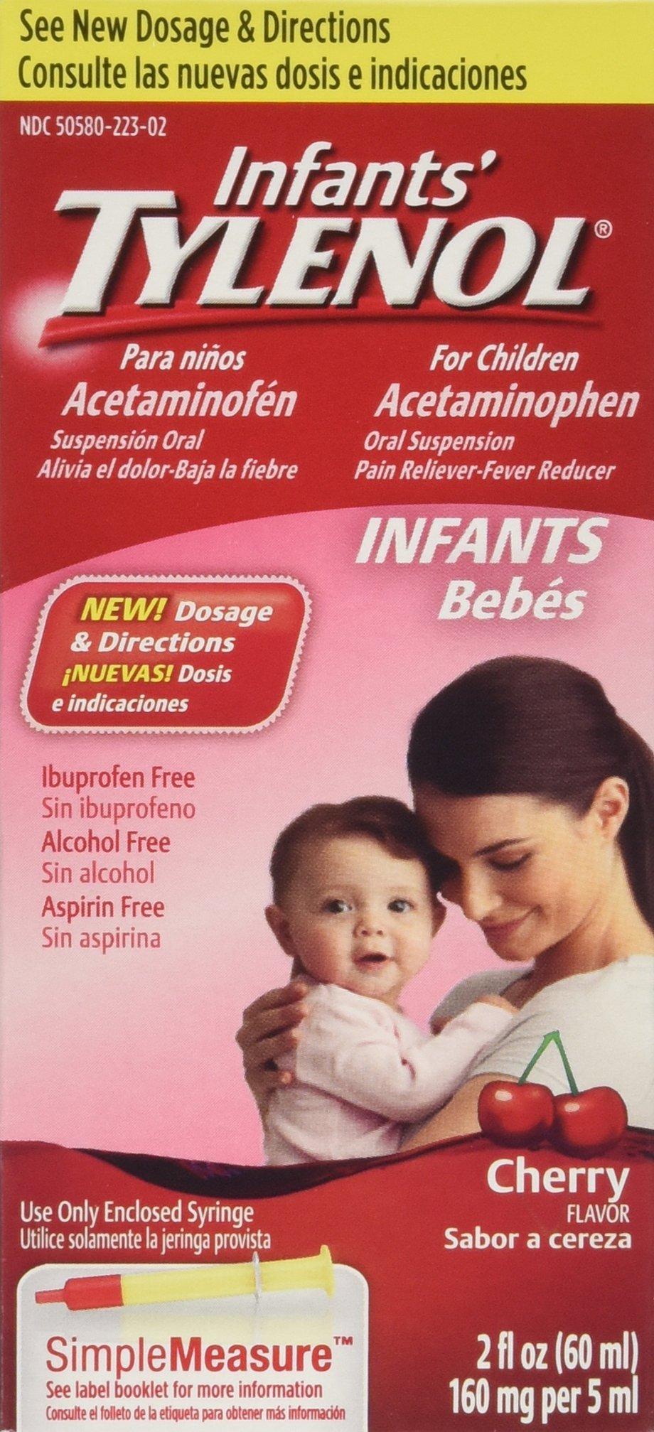 Infants' Tylenol Cherry Flavor - 2 oz. - 2 pk.