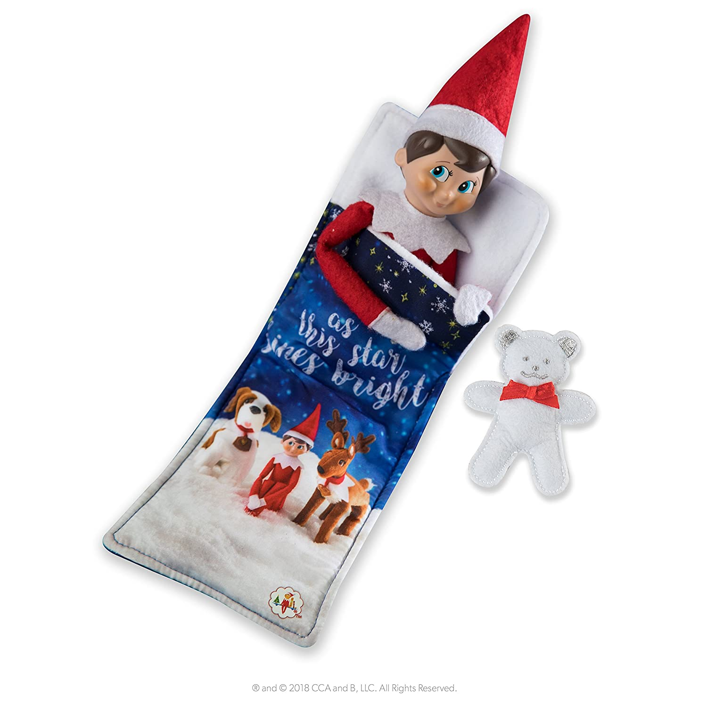 Bleu et Blanc ELF on The Shelf Ccslumber Scout Elf Sac de Couchage