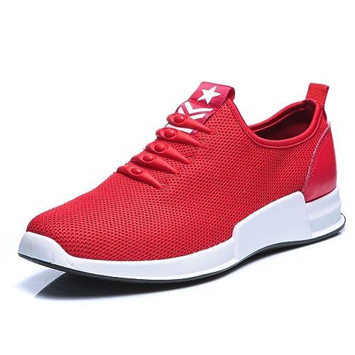 Mforshop Scarpe Da Sneakers Slip Calzino Ginnastica Sportive Uomo On nwkP80O