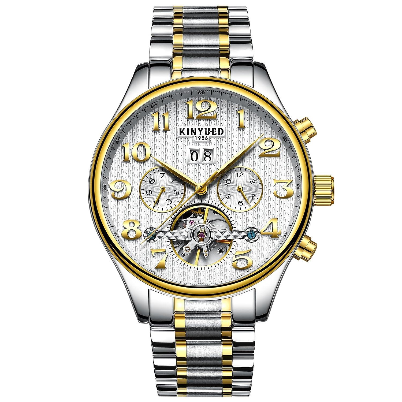 メンズ 多機能 全自動 腕時計 アナログモデル 生活防水 カレンダー機能 時計 B075J762T1