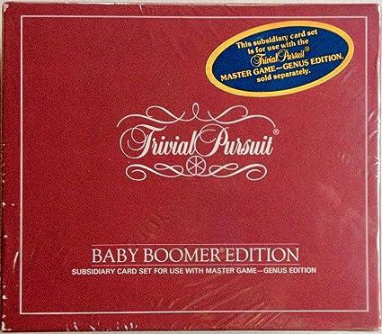 Amazon.com: Tarjeta de Trivial Pursuit Edición Baby Boomer ...