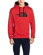 The North Face, M Drew Peak Plv Hd, Felpa con Cappuccio, Uomo, Rosso (Tnf Red), M
