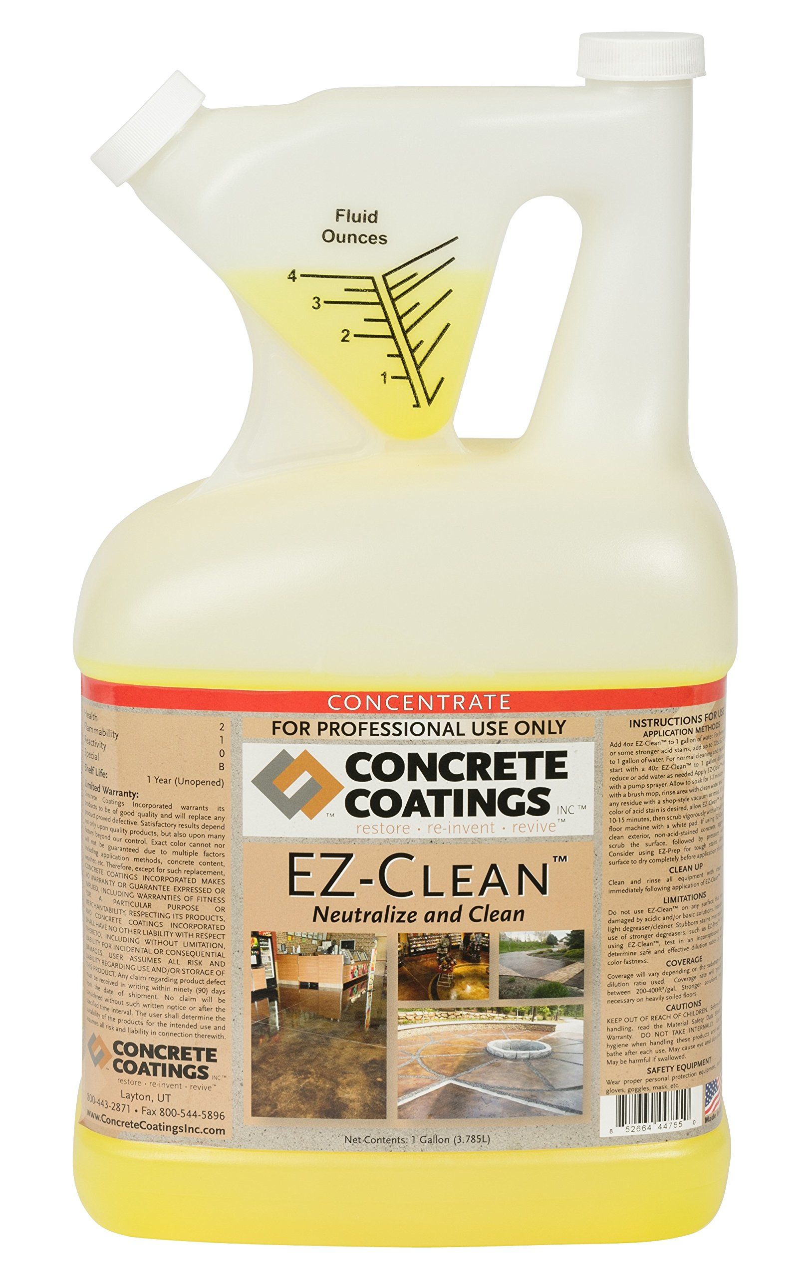 EZ-Clean - Concentrate by Concrete Coatings