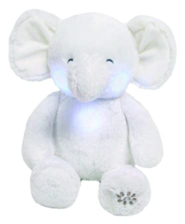 Carters Music & Lights Elephant Soother Stuffed Animal Plush, 10.5