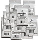 "MCR Medical Supply SB-1001-010 Silver Mylar Emergency Blanket, 59"" x 87"" (Pack of 10)"