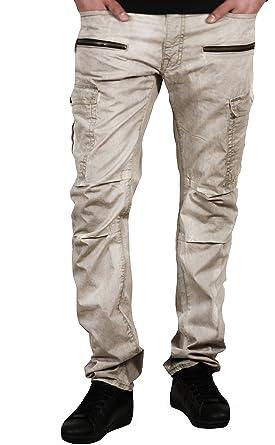 2190b17d2410 Jordan Craig Slim Fit Garment Washed Cargo Pants at Amazon Men s Clothing  store