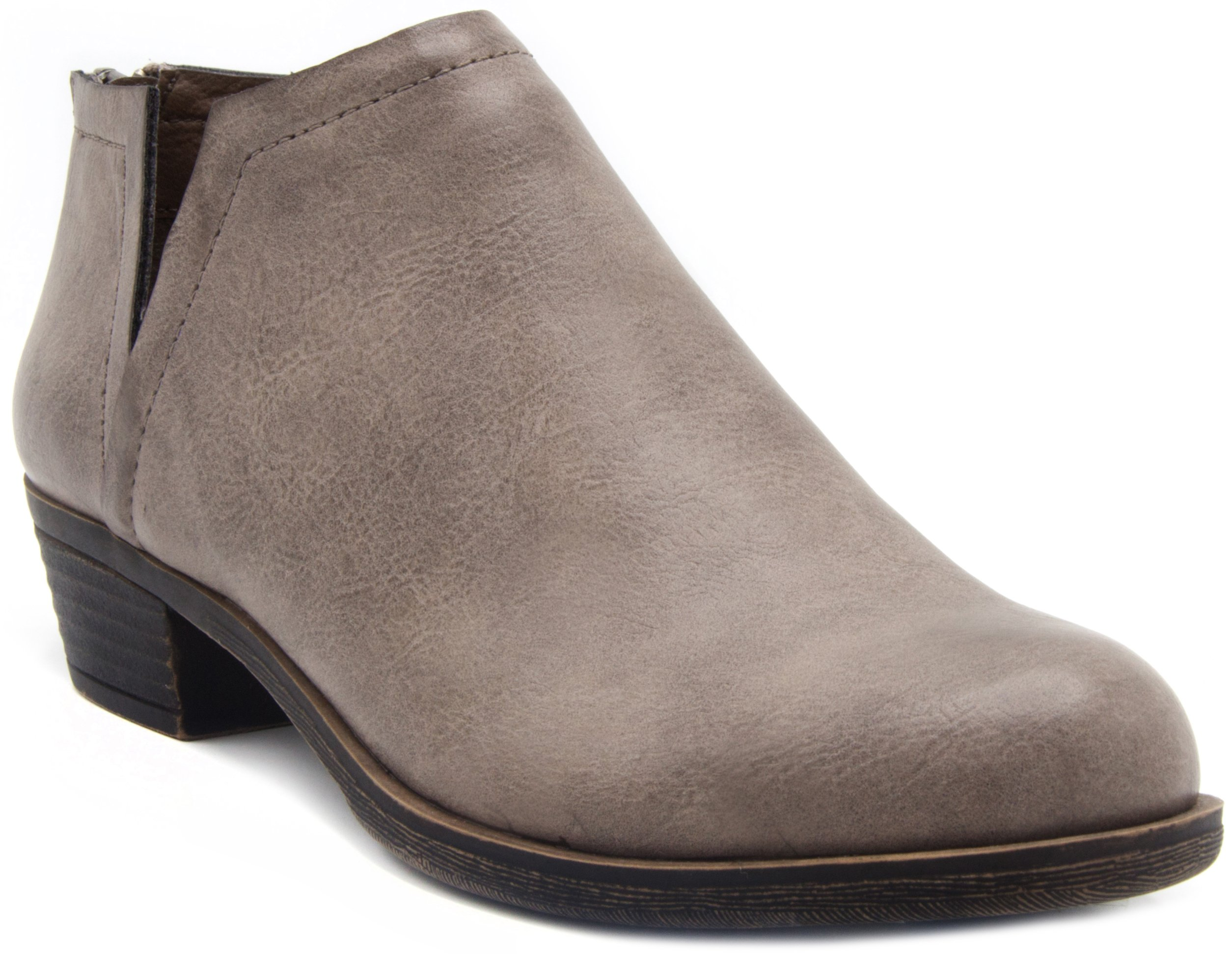 Sugar Women's Tessa Ankle Bootie 8 Grey
