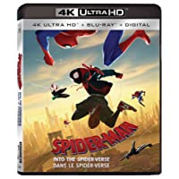 Spider-Man: Into The Spider-Verse (3D) Bilingual - UHD/Blu-ray + Digital Combo Pack