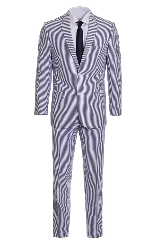 King SUIT Formal Wear SUIT メンズ B0774SVHVS  Blue Wear Pinstripe 44 Pinstripe 44 Short, ほんわか日和:37eef012 --- jpscnotes.in