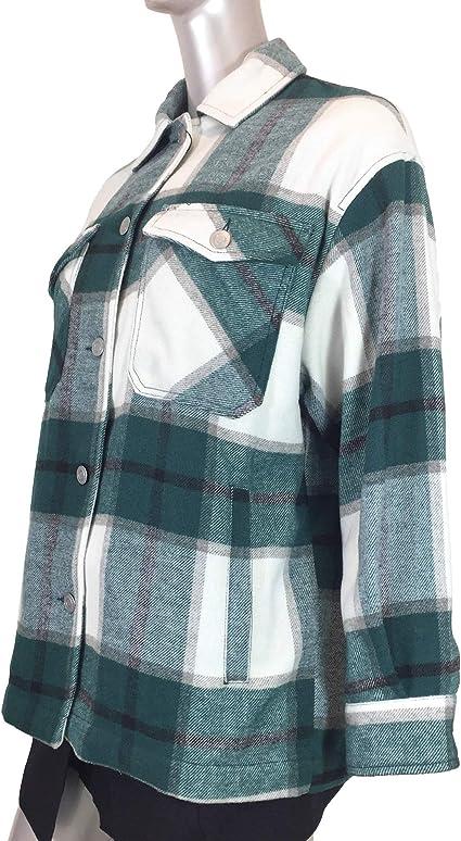 Zara 6318/224/098 - Camiseta de Cuadros para Mujer Beige ...