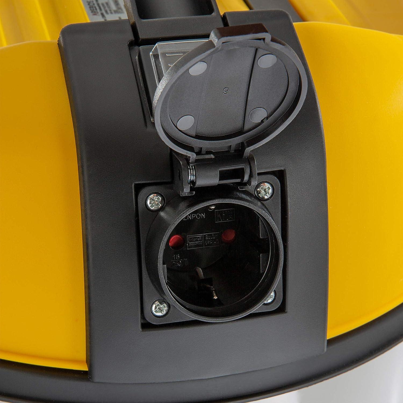 /& Trockensauger 2300W Staubsauger 30L Gelb Arebos Industriestaubsauger Nass