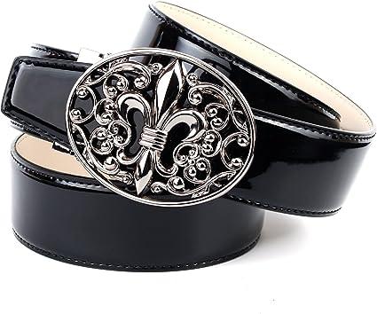 TALLA 90. Anthoni Crown Cinturón para Mujer