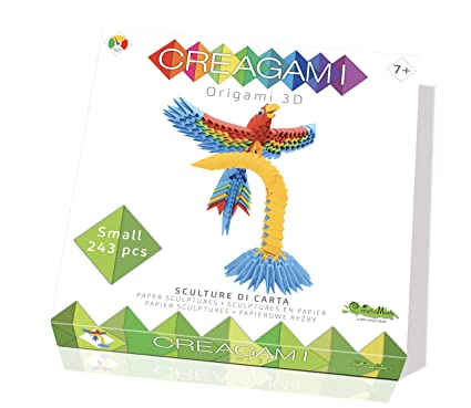 Amazon.com: CreativaMente Creagami Parrot, Multicoloured ...