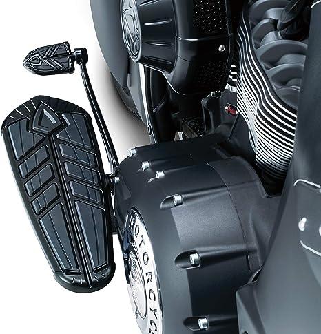 Kuryakyn 5763 Gloss Black Phantom Shift /& Brake Peg for Indian /& Victory Models
