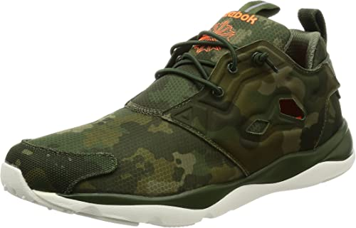 Reebok Furylite Cc primal greenorangec Running Schuhe