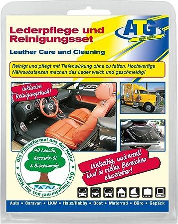 Lederpflege Und Lederreinigungsset Für Auto Motorräder Caravans