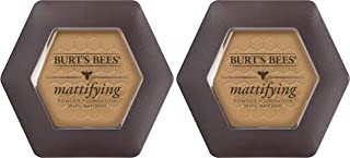 product image for Burts Bees 100% Natural Mattifying Powder Foundation, Nutmeg - 0.3 Ounce (Pack of 2)